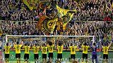 Dazzling Dortmund crush Leverkusen to go second in the Bundesliga