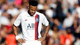 Neymar ready for rough season as fans boo PSG striker