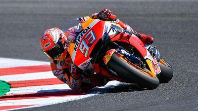 MotoGp: warm up, Marquez il più veloce