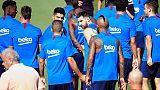 Messi torna ad allenarsi in gruppo
