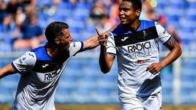 Genoa-Atalanta 1-2, decide Zapata