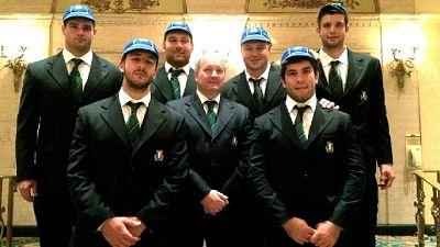 Rugby: Mondiali,consegnati caps azzurri