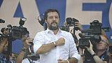 Salvini, Roma così per Raggi-Zingaretti