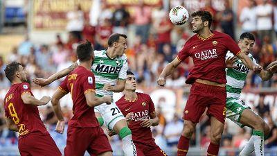 Serie A: Roma-Sassuolo 4-2