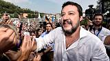 League leader Salvini promises referendums to counter new Italy government
