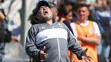 Maradona's club suffer 2-1 defeat on new coaching debut