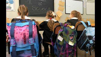 Toscana, tornano a scuola in 500mila