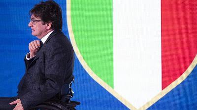 "Mattarella chiama Pancalli ""Bravi"""