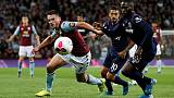 Ten-man Hammers hold on for point at Villa