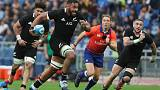 Rugby - Whitelock backs Tuipulotu to shine in Retallick's All Blacks absence