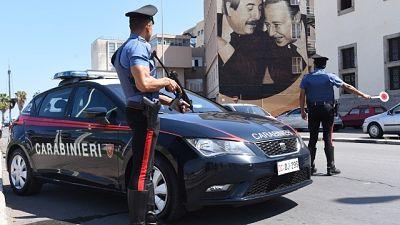 Mafia: 11 arresti per estorsione
