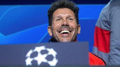 Atletico: Simeone, la Juve è fortissima