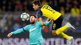 Dortmund draw 0-0 with Barca on Messi return