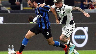 'Inter ricorda l'Atletico campione Liga'