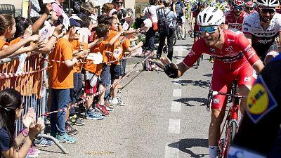 Ciclismo: Giro di Toscana,vince Visconti