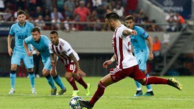 Champions: Olympiacos-Tottenham 2-2