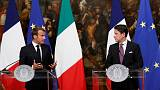 Italy and France agree migrants must be distributed around the EU
