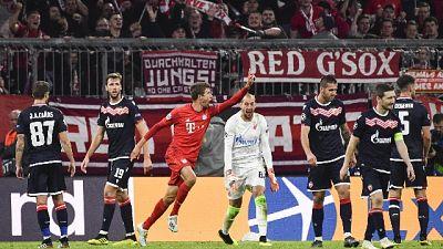 Champions:Bayern Monaco-Stella Rossa 3-0