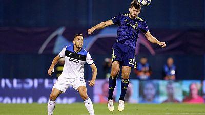 Dynamic Dinamo Hand Atalanta Sour Champions League Debut Euronews