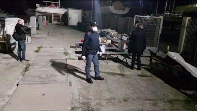 Migranti, fermati due presunti scafisti