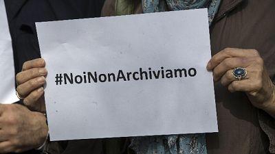 """Ilaria Alpi:sit in """"no ad archiviazione"""""""
