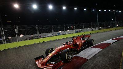 Vettel, passo avanti con nuovo pacchetto