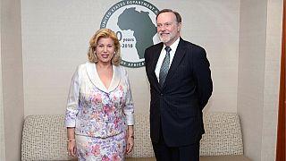 Côte d'Ivoire - États Unis : La première Dame reçu par le sous secrétaire d'État américain aux affaires africaines Tibor Nagy Jr