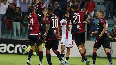 Calcio: Cagliari-Genoa 3-1