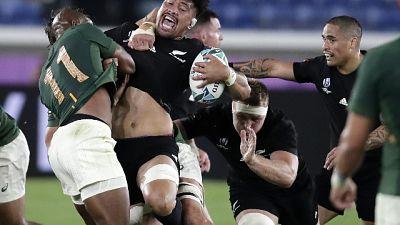 Rugby: Nuova Zelanda-Sudafrica 23-13