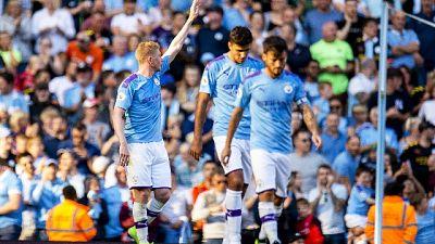 Premier: City ne fa otto al Watford