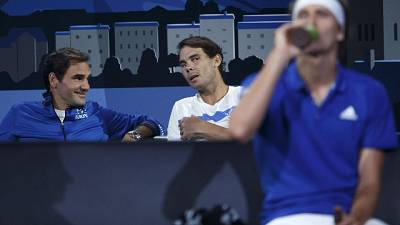 Tennis: Laver Cup, Nadal 'coach' Federer