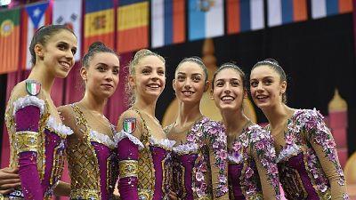 Mondiali ritmica, 5/o posto per l'Italia