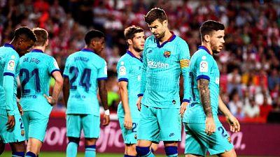 Liga: Barcellona sconfitto 2-0 a Granada