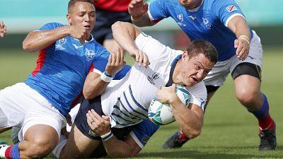 Rugby: buona la 1/a,Italia-Namibia 47-22