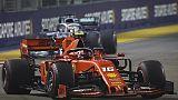 F1:doppietta Ferrari a Singapore