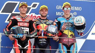 Moto: Aragon, Binder vince in Moto2