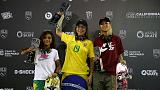 Brazilian women take one-two finish in street final