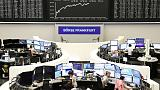 European shares edge lower after dismal France data