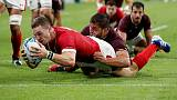 Early blitz lifts six-try Wales to win over Georgia