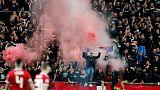 Hungary, Slovakia get stadium bans for fans' racist behaviour