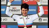 Mondiali ciclismo: Tiberi vince crono jr