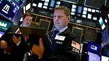 Global stocks fall as Trump impeachment talk grows; sterling up after Brexit ruling
