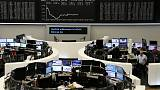 European shares rebound as banks rise, trade hopes ease growth worries