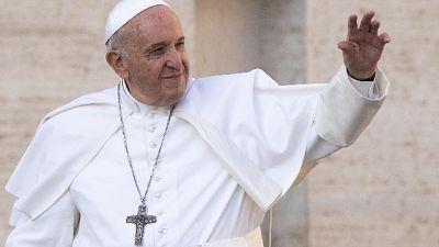 Papa: visita a sorpresa a Frosinone