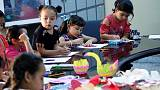 U.N. runs clubs for Libyan children, after conflict disrupts schools