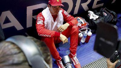 Leclerc, non vedo l'ora di ripartire