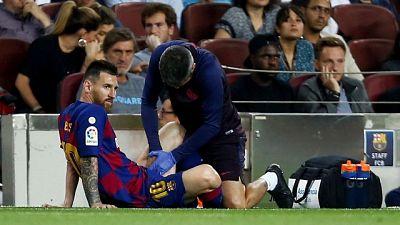 Barcellona vince, Messi gioca un tempo