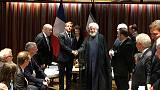 France's Macron meets Iran's Rouhani after seeing Trump
