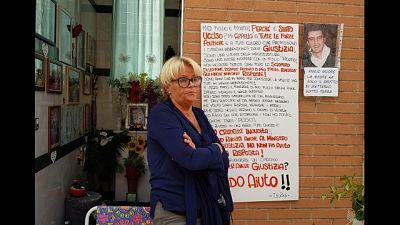 Madre morto su lavoro prosegue protesta
