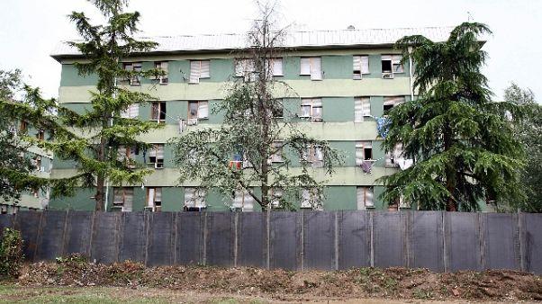Al via demolizione via Anelli Padova
